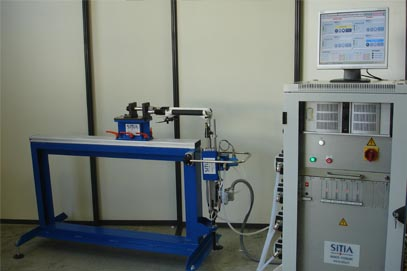 Fatigue Test Bench - Flexion on Repeated Application of a Braking Force on Front Fork
