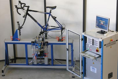 Fatigue Test Bench - Pedaling Forces